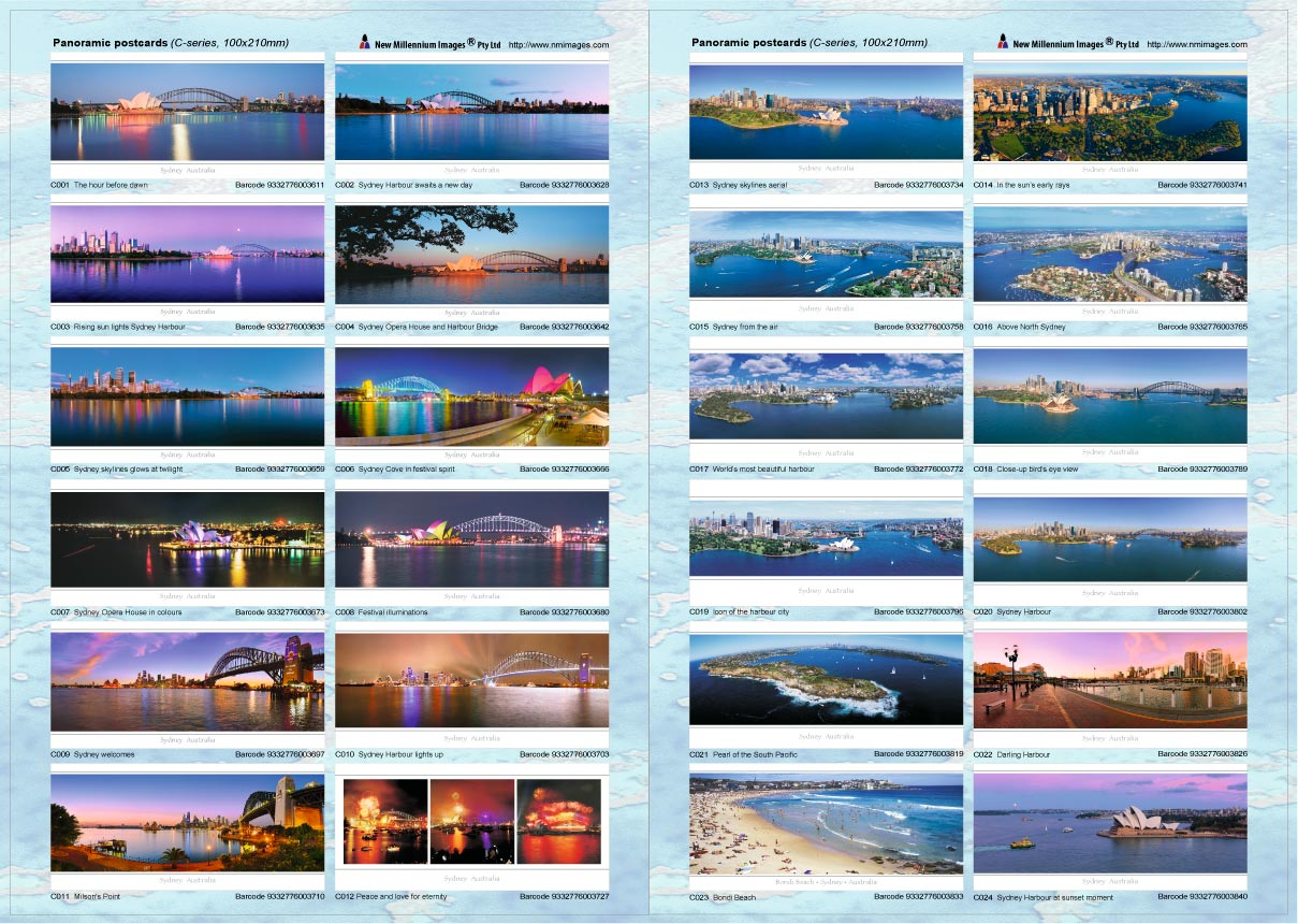Panoramic Postcards